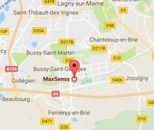 Position de maxsenss Bussy-Saint-georges